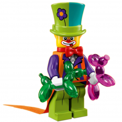 LEGO Minifig - Party Clown 71021 Series 18