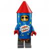 LEGO Minifig - l'homme feu d'artifice LEGO 71021 Série 18