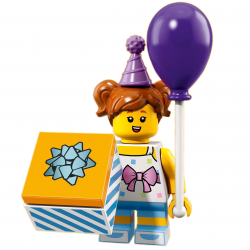 LEGO Minifig - Birthday Party Girl 71021 Series 18