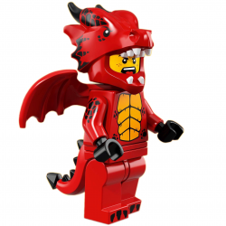 LEGO Minifig - Dragon Suit Guy 71021 Series 18