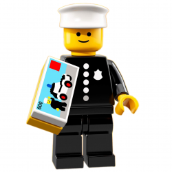 LEGO Minifig - Classic Police Officer 71021 Series 18