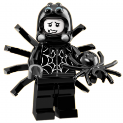 LEGO Minifig - Spider Suit Boy 71021 Series 18