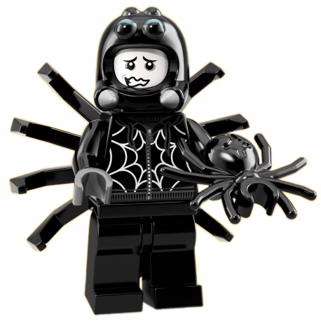 LEGO Minifig - le garçon déguisé en araignée 71021 Série 18