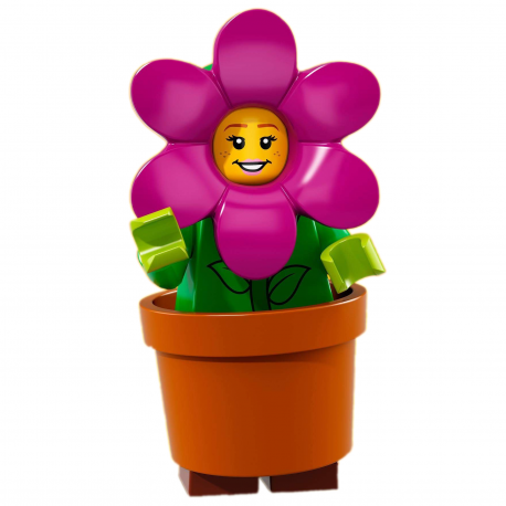 Lego MINIFIGURES 7 Girls Lady Women People Flowers Female Town Minifigs Toys