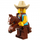 LEGO Minifig - l'homme en costume de cow-boy 71021 Série 18