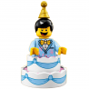 LEGO Minifig - Birthday Cake Guy 71021
