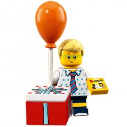 LEGO Minifig - le garçon goûter d'anniversaire 71021 Série 18