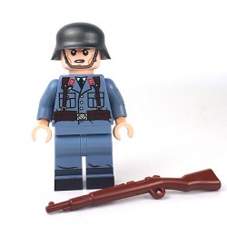 United Bricks Soldat Luftwaffe Flak LEGO Minifigure