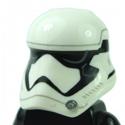 Lego - Minifig Helmet SW Stormtrooper Ep. 7 Rounded Mouth