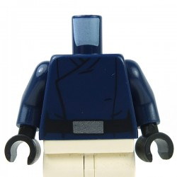 Lego - Torse Minifig Star Wars SW First Order Officer Male (Bleu Foncé)