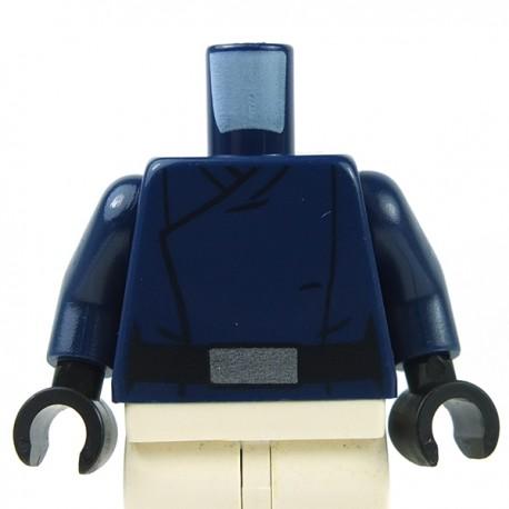 Lego - Torse Minifig Star Wars SW First Order Officer Male (Bleu Foncé)