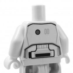 Lego - White Minifig Torso SW Armor Stormtrooper Ep. 7