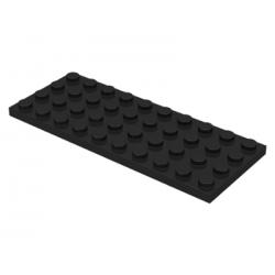 LEGO Pièces Détachées - Plaque 4x10 (Noir)