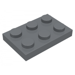 LEGO Pièces Détachées - Plaque 2x3 (DBG)