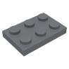 LEGO - Plaque 2x3 (DBG)