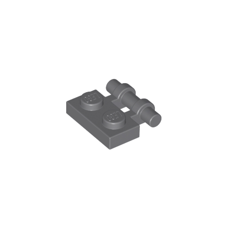 LEGO Spare Parts - Plate Modified 1x2 with Handle on Side - Free Ends (DBG)