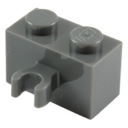 LEGO Spare Parts - Brick Modified 1x2 with Vertical Clip (DBG)