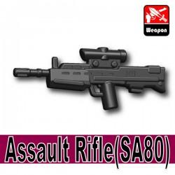 Lego Accessoires Minifigure Si-Dan Toys - Assault Rifle SA80 (Noir)