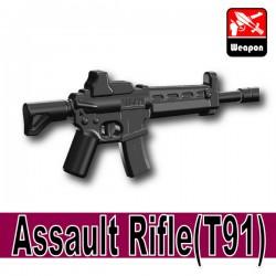 Lego Accessoires Minifigure Si-Dan Toys - Assault Rifle T91 (Noir)