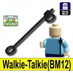 Lego Accessoires Minifigure Si-Dan Toys - Talkie-Walkie BM12 (Noir)