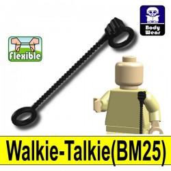 Lego Accessoires Minifigure Si-Dan Toys - Talkie-Walkie BM25 (Noir)