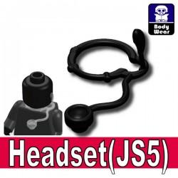 Lego Accessoires Minifigure Si-Dan Toys - Si-Dan Toys - Headset JS5 (Noir)