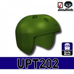 Lego Accessoires Minifigure Militaire Si-Dan Toys - Casque UPT-202 (Vert Militaire)