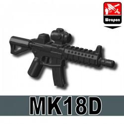 Lego Accessoires Minifigure Militaire Si-Dan Toys - MK18D (Noir)