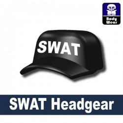 Lego Accessories Minifigure Military - Si-Dan Toys - Marine headgear SWAT (Black)