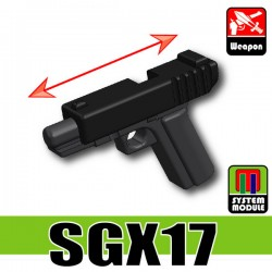 Lego Accessories Minifigure Military - Si-Dan Toys - SGX17 (Black/Combat Black)