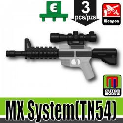 Lego Accessoires Minifigure Militaire Si-Dan Toys - MX System TN54 (Noir)