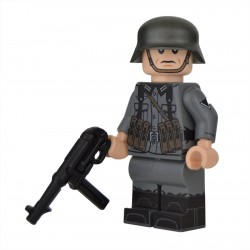 Lego Militaire United Bricks - United Bricks - WW2 German NCO