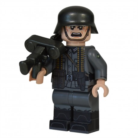 Lego Military United Bricks - United Bricks - WW2 German MG Gunner