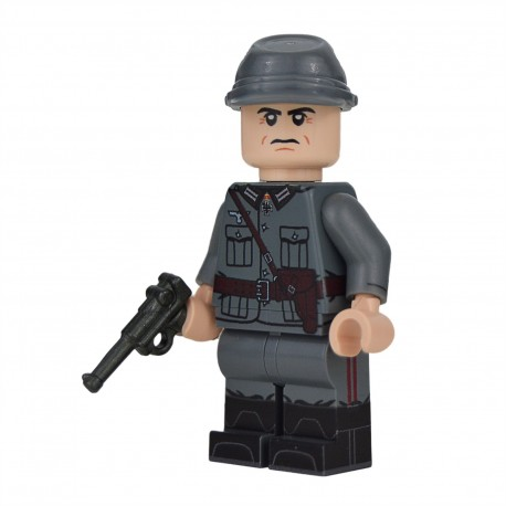 Lego Militaire United Bricks - United Bricks - WW2 German Officer