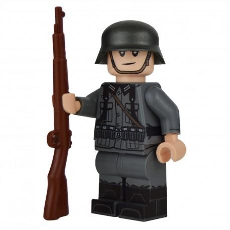 Lego Militaire United Bricks - United Bricks - WW2 German Rifleman
