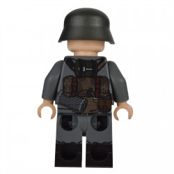Lego Militaire United Bricks - United Bricks - WW2 German MG Assistant