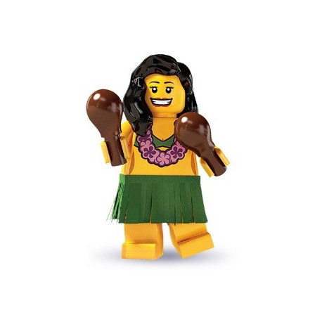 une danseuse de hula
