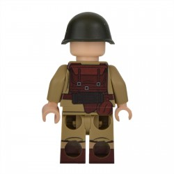 Lego Militaire United Bricks - United Bricks - WW2 Danish Soldier
