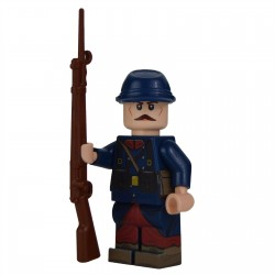 Lego Military United Bricks - United Bricks - WW1 French Minifigure (Early War)