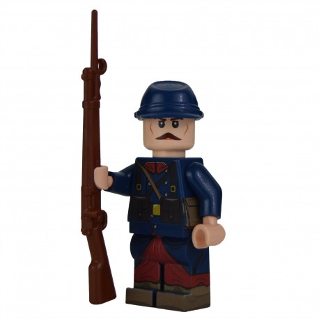 Lego Militaire United Bricks - United Bricks - WW1 Soldat Français 1914