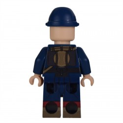 Lego Militaire United Bricks - United Bricks - WW1 Soldat Français 1914