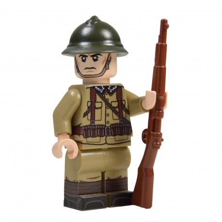 Lego Militaire United Bricks - United Bricks - WW2 Soldat Polonais
