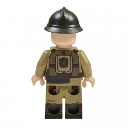 Lego Militaire United Bricks - United Bricks - WW2 Soldat Polonais