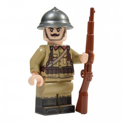 Lego Militaire United Bricks - United Bricks - WW2 Soldat Belge