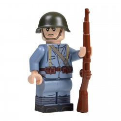 Lego Militaire United Bricks - United Bricks - WW2 Soldat Néerlandais