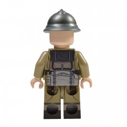 Lego Militaire United Bricks - United Bricks - WW2 Soldat Français