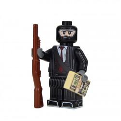 Lego Militaire United Bricks - United Bricks - Braqueur de Banque