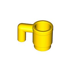 LEGO - Yellow Minifig, Utensil Cup
