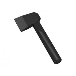 LEGO - Black Minifig, Utensil Axe