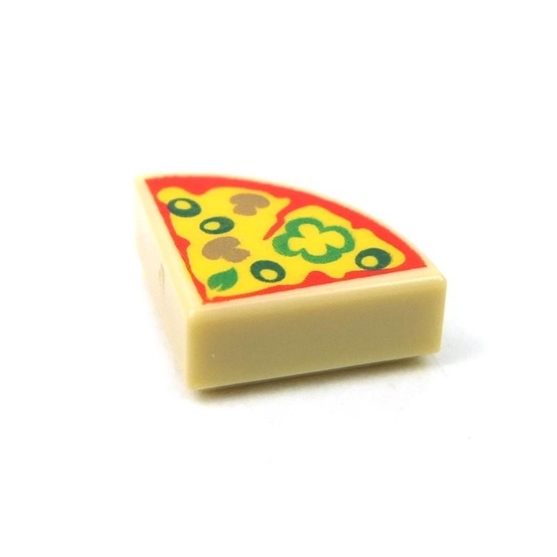 NEW Lego Food 4 SLICE PIZZA Minifig Accessory